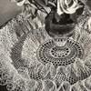 Vintage Crochet Doily Pattern, Ruffled Rose