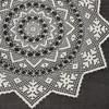 Sunburst Crochet DOily Pattern