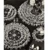 Crocheted Rows of Ruffles Luncheon Set Pattern