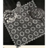 Vintage Square Flower Medallion Crochet Pattern
