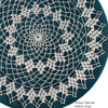 Picot Crocheted Doily Pattern, American Thread