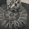 Crochet Pattern, Ruffled Star Doily
