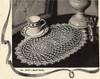 Vintage 1940s Oval Lace Doily Pattern