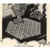 Flower Crocheted Doily Pattern in Pentagon Shade
