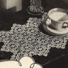 Crocheted Medallion Place Mat Pattern from American Thread