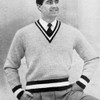 Mans Color Band Striped Pullover Pattern Knitting Pattern