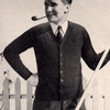 Mans Classic Cardigan Knitting Pattern, Vintage 1940s