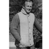 Vintage Knitting Pattern Mans Sports Jacket