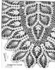 Pineapple Runner Crochet Pattern Illustration, Laura Wheeler 786
