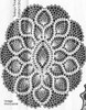 Large Pineapple Doily Pattern Detail, Mail Order 835