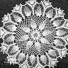 Pineapple Crocheted Doily Pattern