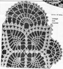 Crochet Oval Doily Pattern Illustration, Laura Wheeler 742