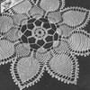 Vintage Pineapple Petals Crocheted Doily Pattern