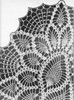 Crochet Detail of Shell Pineapple Runner