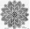 Pineapple Doily Pattern Illustration, Alice Brooks 7047