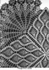 Pineapple Centerpiece doily pattern illustration, Mail Order 7339