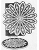 Wheel Crocheted Doily Pattern, Large Small, Laura Wheeler 738