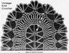 Oval Doily Pattern Stitch Illustration for Design 882