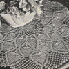 Fan Pineapple Crochet Doily Pattern, Centerpiece