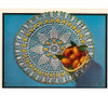 Vintage Orange Blossom Crochet Doily pattern