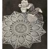 Vintage Sunburst Crocheted Doily Pattern