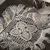 Pineapple Trellis Crochet Doily Pattern, Vintage 1940s