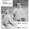 Baby Knit Crochet Jacket Pattern