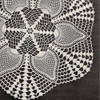 Large Pineapples Crochet Doily Pattern