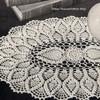 Oval Pineapple Doily Crochet Pattern
