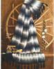 Mans Striped Afghan Knitting Pattern No 742-16