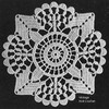 Armenian Lace Crochet Square Pattern No 620