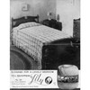 Lily Mills Leaflet L-23, Guipure Lace Bedspread Pattern
