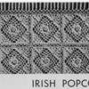 Vintage Bedspread Crochet Pattern called Irish Popcorn