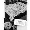 Crochet Octagon Medallion Bedspread Crochet Pattern in Popcorn Stitch