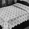 Vintage Popcorn Crocheted Bedspread Pattern