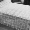 Vintage Golden Wedding Crochet Bedspread pattern