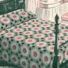 Sunflower Crocheted Square Bedspread Pattern