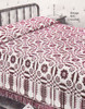 Filet Puritan Maiden Crochet Bedspread Pattern