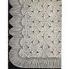 Crochet Swedish Bedspread Pattern, Vintage 1940s