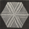 Crocheted Bedspread Medallion pattern