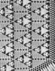 Triangle Bedspread Crochet Pattern, Lily Mills 804