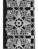 Crochet Four Point Star Square Pattern, Vintage 1940s