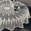 Round Puritan Crochet Tablecloth Pattern