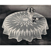 Vintage Round Tablecloth Pattern