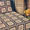 Fitted Crochet Bedspread Pattern, Modern Block
