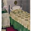 Vintage Pansy Crochet Bedspread Pattern