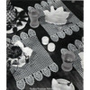 Honeycomb Pineapple Place Mats Crochet Pattern