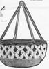 Crochet Hanging Basket Pattern Stitch Detail Design 717