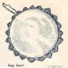 Vintage Crochet Soap Saver Washcloth pattern
