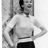 Knitting pattern Misses Short Sleeve Blouse